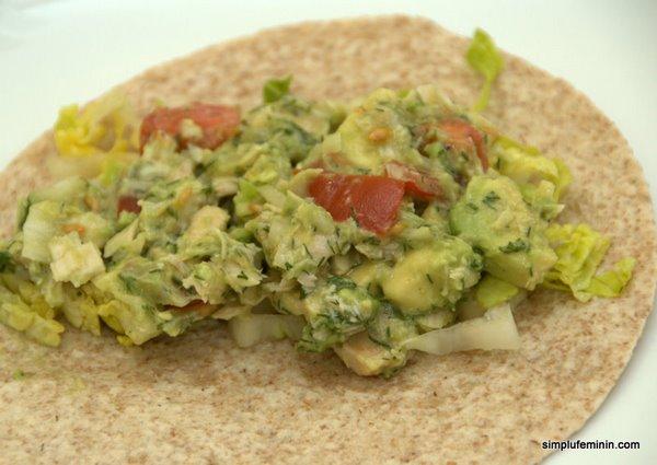 salata avocado cu ton