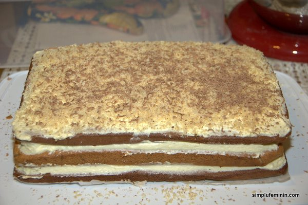 prajitura morena - crema