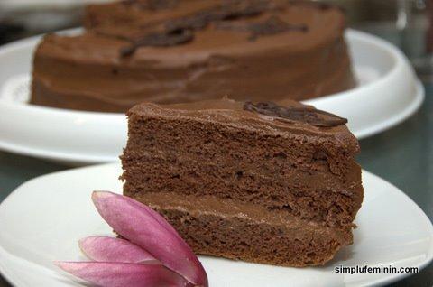 tort crema ciocolata