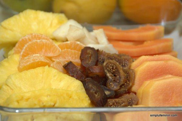 desert fructe, cuscus