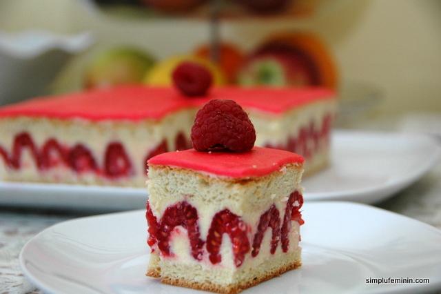 Tort cu zmeura - Framboisier