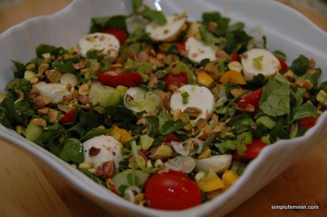 somon cu salata
