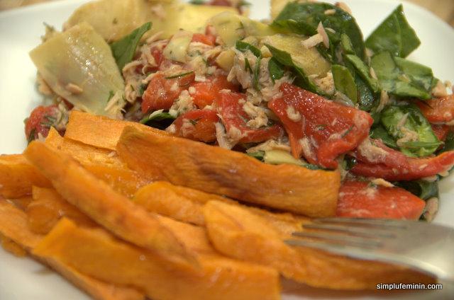 salata anghinare cu ton