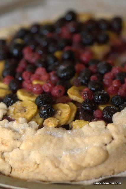 Tarta cu fructe (Gallete)
