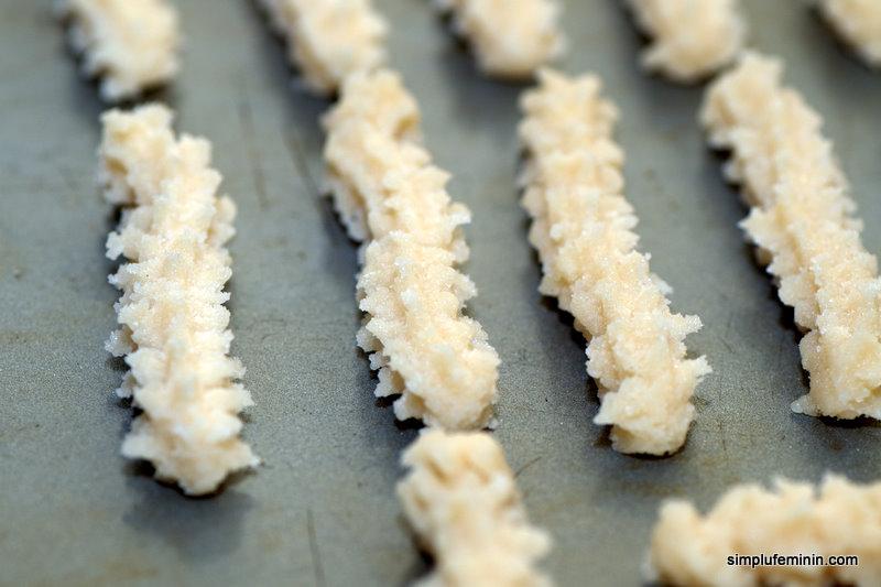Fursecuri cu vanilie (Biscuiti spritati)